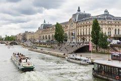 Musee d ` Orsay, Paryż, Francja Fotografia Royalty Free