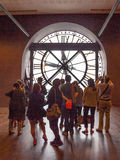 ` Musee d Orsay-Uhr stockfotos