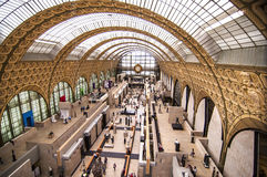 Musee d'Orsay Royalty Free Stock Image