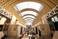 Musee d'Orsay w Paryż, Francja fotografia royalty free