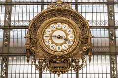 Musee d'Orsay w Paryż, Francja Zdjęcie Royalty Free