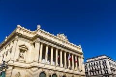 Musee de Ла Морск et марсель de l'economie de Стоковые Фото