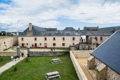 Musee de la Compagnie印度公司des Indes博物馆  莫尔比昂省,路易港 免版税库存照片