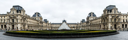 Musee de Louvre - Paris, France Royalty Free Stock Photos