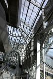 Musee des合流,利昂,法国 库存照片