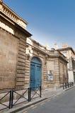 Musee des Arts Decoratifs at Bordeaux, France. Entrance of the Musee des Arts Decoratifs located at Bordeaux, France Royalty Free Stock Photo