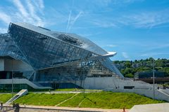 Musee des Confluences in Lyon, France