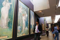 Musee dOrsay - Париж Стоковые Изображения RF
