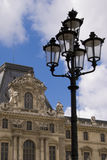 Musee du Louvre Stock Afbeelding