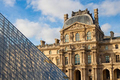 Musee du Louvre Royalty Free Stock Image