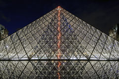 Musee du Louvre Stockfoto