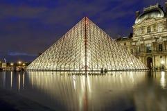 Musee du Louvre Stockbild