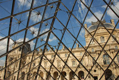 Musee du Louvre Royalty Free Stock Photos