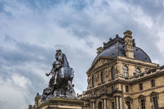 Musee du louvre Royalty Free Stock Images