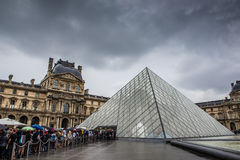 Musee du louvre Stock Images