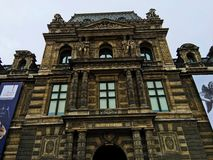 Musee Du Louvre Museum Paris Stock Image