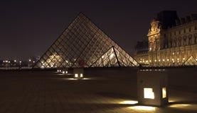 Musee du Louvre, Parijs, Frankrijk. Royalty-vrije Stock Foto's