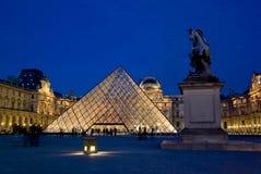 Musee du Louvre, Parijs, Frankrijk Stock Fotografie