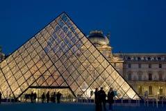 Musee du Louvre, Parijs, Frankrijk Stock Afbeelding