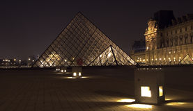 Musee du Louvre, Paris, France. Royalty Free Stock Photos