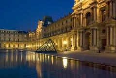 Musee du Louvre, Paris, France Photographie stock