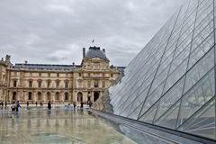 Musee du Louvre,Paris France Royalty Free Stock Photography