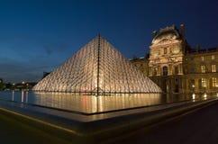 Musee du Louvre, Paris, Frankreich Stockbild