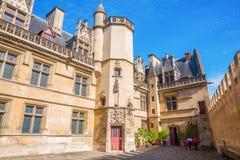 Musee du Moyen Age national à Paris, France Photos stock