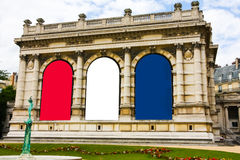 Musee Galliera byggnad, Paris, Frankrike Royaltyfri Foto