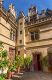 Musee obywatel Du Moyen Starzejący się w Paryż, Francja Obraz Royalty Free