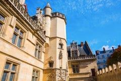 Musee obywatel Du Moyen Starzejący się w Paryż, Francja Zdjęcia Royalty Free
