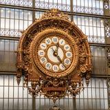 musee orsay zegar d Zdjęcia Stock