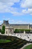 museee du Louvre小曲拱 库存照片