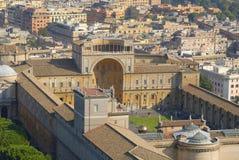 museer vatican Royaltyfri Fotografi
