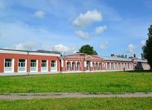 Museet av historia av flygmotor-byggnad, Gatchina royaltyfri bild