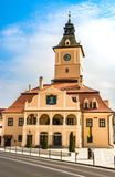 Museet av historia i Brasov, Rumänien arkivfoto