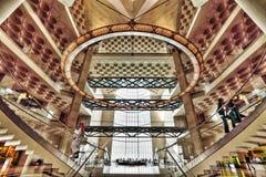 Museet av islamisk konst i Qatar, Doha Arkivbild