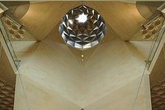 Museet av islamiska konster, Doha Qatar Detaljer av det inre taket royaltyfri bild