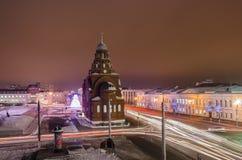 Museet av kristall- och färgminiatyrer i Vladimir Royaltyfria Foton