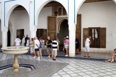 Museet av Marrakesh Royaltyfri Bild