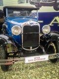 Museet av retro bilar i Moskvaregion av Ryssland Arkivbilder