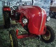 Museet av retro bilar i Moskvaregion av Ryssland Arkivfoton