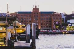 Museet av samtida konst i Sydney Circular Quay royaltyfri foto