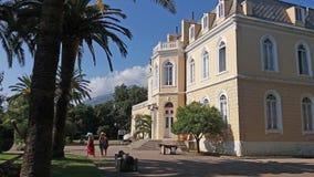 Museet av slotten av konungen Nikola, stång, Montenegro royaltyfri foto