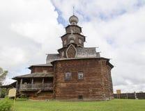 Museet av träarkitektur i suzdal, ryssfederation Royaltyfria Bilder