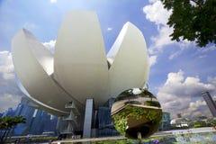 Museet av vetenskap och konst i Singapore Arkivfoto