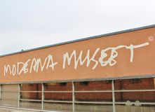 Museet de Moderna, Éstocolmo foto de stock royalty free