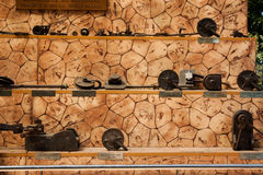 Museet för slussporten i Herastrau parkerar - detaljer royaltyfria bilder