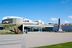 Museet för Utah stranddag D, Normandie, Frankrike Fotografering för Bildbyråer