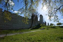 Museggmauer Of Luzern Royalty Free Stock Image